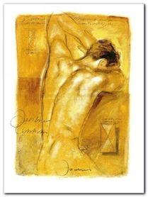 A Man-S Desire plakat obraz 90x120cm