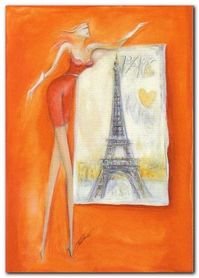 Paris Glamlight plakat obraz 50x70cm