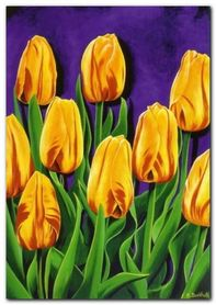 Tulips II plakat obraz 85x120cm