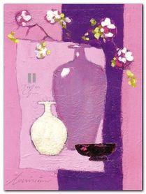Cheri Bloom Rose plakat obraz 60x80cm