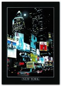 Time Square plakat obraz 50x70cm