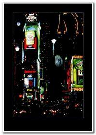 Manhattan plakat obraz 50x70cm