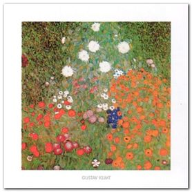 Flowery Garden plakat obraz 50x50cm