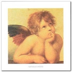 Angels (Detail) plakat obraz 50x50cm