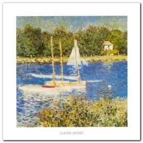 The Bassin Argenteuil plakat obraz 50x50cm