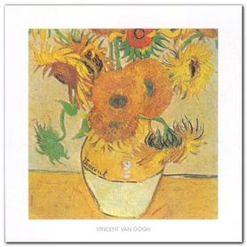 Sunflowers, (Detail) plakat obraz 50x50cm