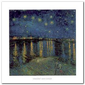 Sternennacht 1888 plakat obraz 50x50cm