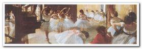 Ecole De Danse plakat obraz 100x35cm