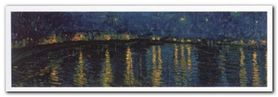 Sternennacht 1888 plakat obraz 100x35cm
