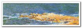 La Grande Bleue plakat obraz 100x35cm