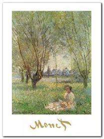 Woman Under The Willows plakat obraz 60x80cm