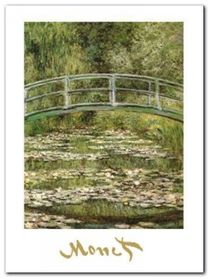 The Water-Lily Pond plakat obraz 60x80cm