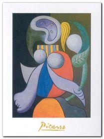 Femme ala fleur, 1932 plakat obraz 60x80cm