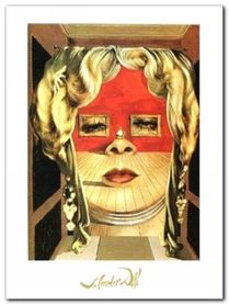 Il Volto Di Mae West plakat obraz 60x80cm
