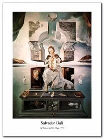 La Madonna plakat obraz 60x80cm