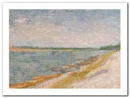 Les Canots Amarres plakat obraz 80x60cm (1)