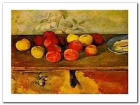 Pommes Et Biscuit plakat obraz 80x60cm