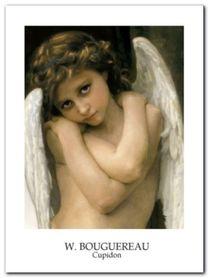 Cupidon plakat obraz 60x80cm