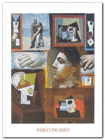 Etudes plakat obraz 60x80cm (1)
