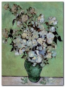 A Vase Of Roses, 1890 plakat obraz 60x80cm