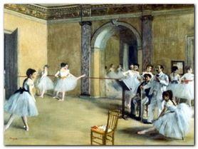 Dance Foyer plakat obraz 80x60cm