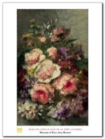 Flowers plakat obraz 60x80cm