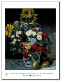 Mixed Flowers plakat obraz 60x80cm