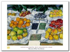 Fruit Displayed plakat obraz 80x60cm