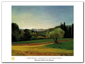 Landscape plakat obraz 80x60cm