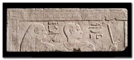 Relief Of Heads plakat obraz 100x45cm