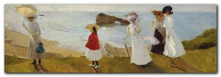 Lighthouse Walk plakat obraz 100x35cm (1)