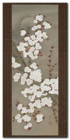 Cherry Blossoms plakat obraz 50x100cm