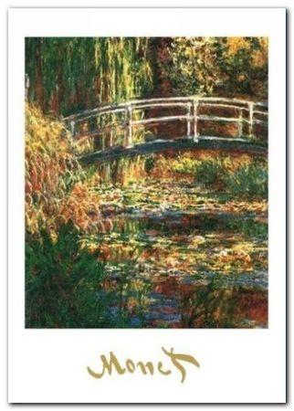 The Water Lily Pond plakat obraz 50x70cm (1)