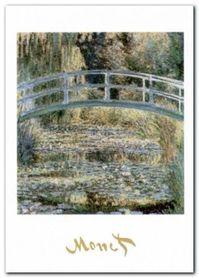 The Water Lily Pond plakat obraz 50x70cm
