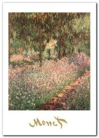 The Monet's Garden plakat obraz 50x70cm