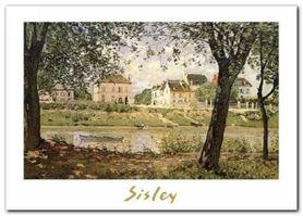 Village plakat obraz 70x50cm