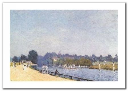 Hampton Court plakat obraz 70x50cm (1)