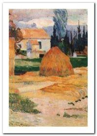 Ferme A Arles plakat obraz 50x70cm