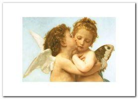The First Kiss plakat obraz 70x50cm
