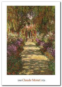 Il Viale Del Giardino plakat obraz 50x70cm