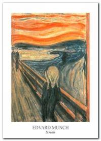 Scream plakat obraz 50x70cm