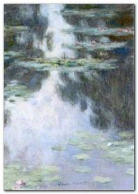 Water Lilies (Nympheas) plakat obraz 50x70cm