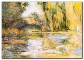 Waterlilly Pond plakat obraz 70x50cm
