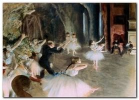 Ballet On Stage plakat obraz 70x50cm