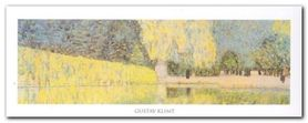 The Schonbrunn Park plakat obraz 50x20cm