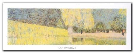 The Schonbrunn Park plakat obraz 50x20cm (1)