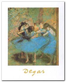 Ballerine Blu plakat obraz 24x30cm