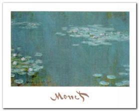 Nymphaeas plakat obraz 30x24cm