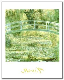 The Water Lily Pond plakat obraz 24x30cm