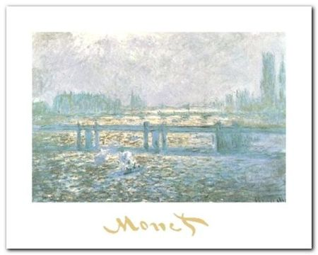 Charing Cross Bridge plakat obraz 30x24cm (1)